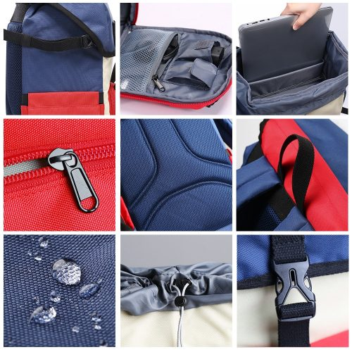 K&F Concept DSLR Camera Backpack Waterproof Camera Bag Multi-Functional for SLR/DSLR Camera Lens & Accessories with Rain Cover