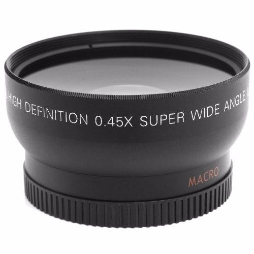 52MM 0.45x Wide Angle Lens + Macro Lens for Nikon DSLR Cameras with 52mm UV Lens Filter Thread Free Shipping