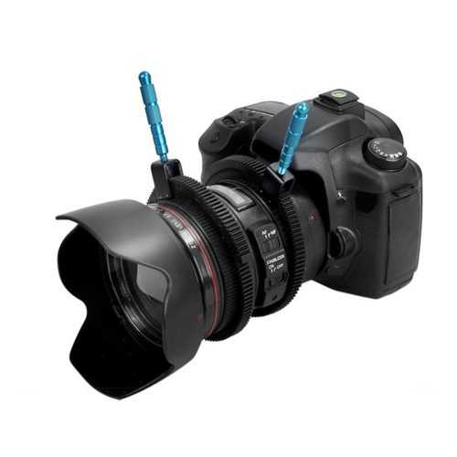 new SLR DSLR Camera Accessories Adjustable Rubber Follow Gear Ring Belt with Aluminum Alloy Grip for DSLR Camcorder Camera