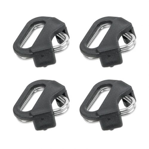 4pcs Strong Triangular Split Rings for Camera Back Belt Strap Buckle Accessories Metal Ring for Leica/Panasonic/Fuji/Sony DSLR..